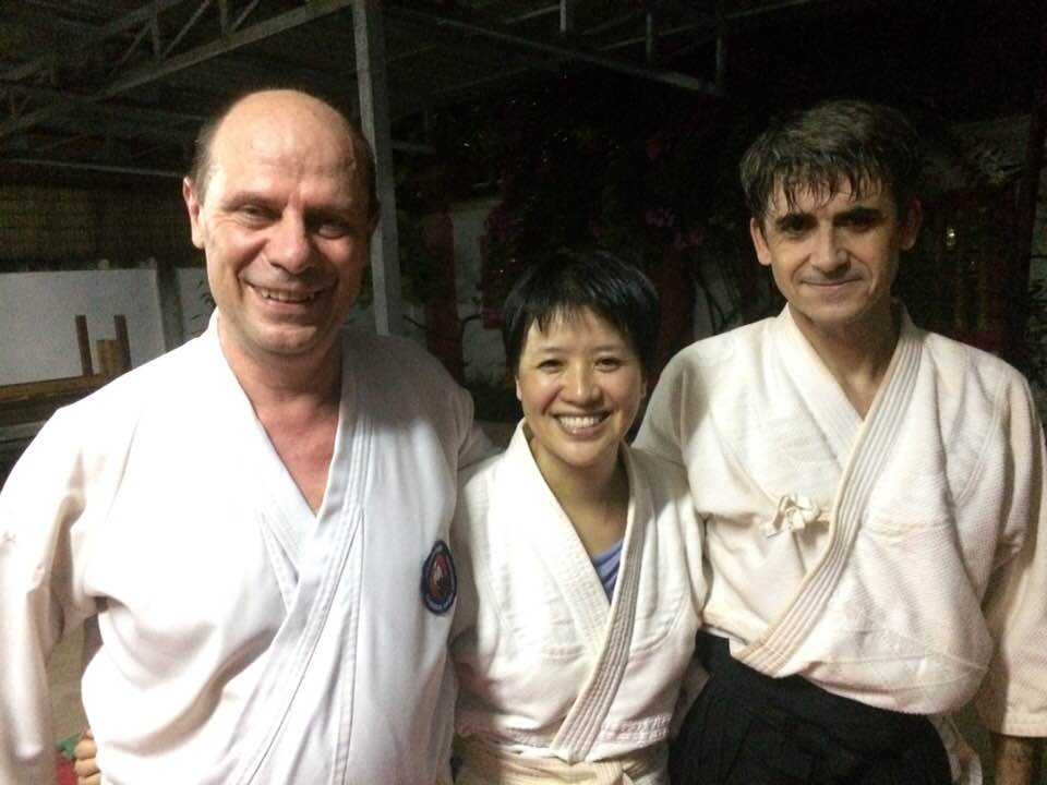 Raphaël : Ceinture noire d'Aikido !