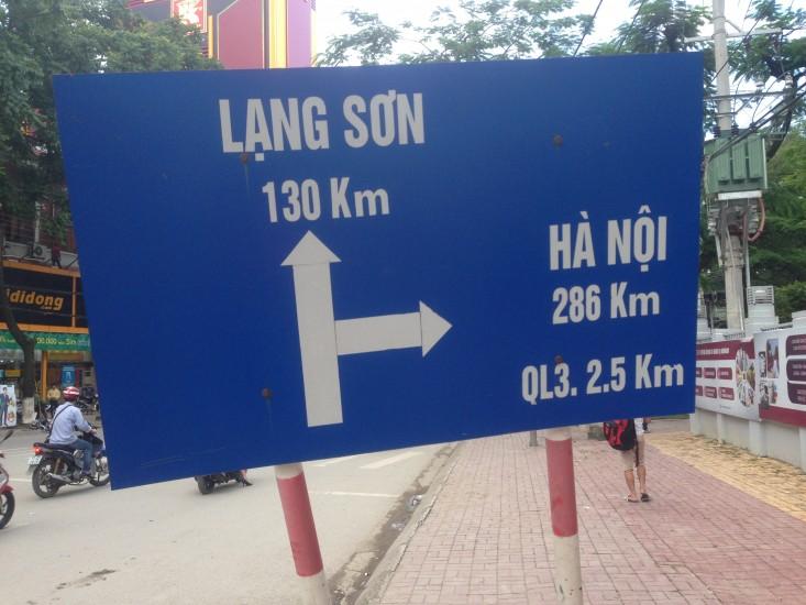 Voyage au Vietnam , Partie I Cao Bang