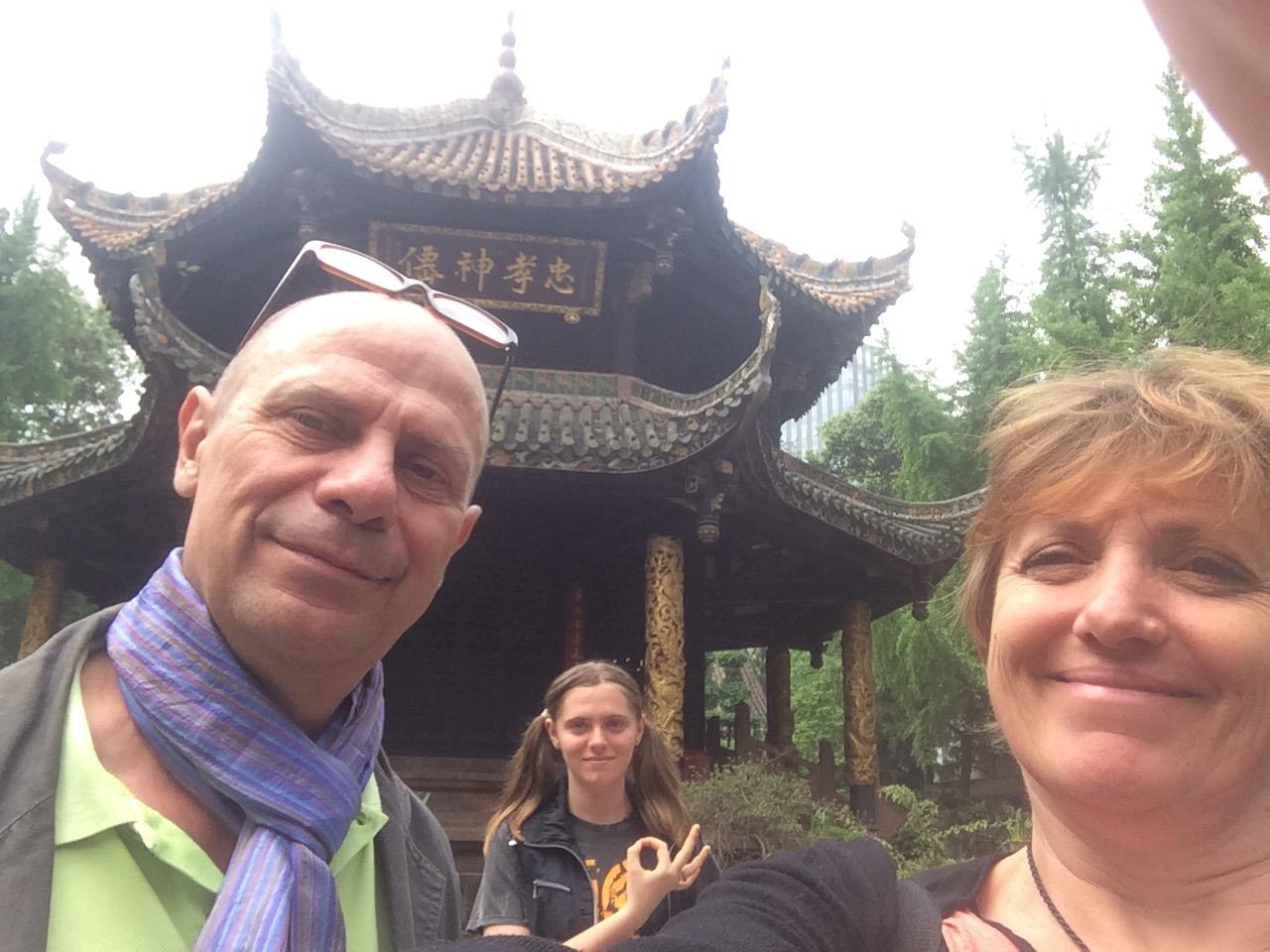 Les Ferry en Chine – Chengdu- 1/5 – les touristes