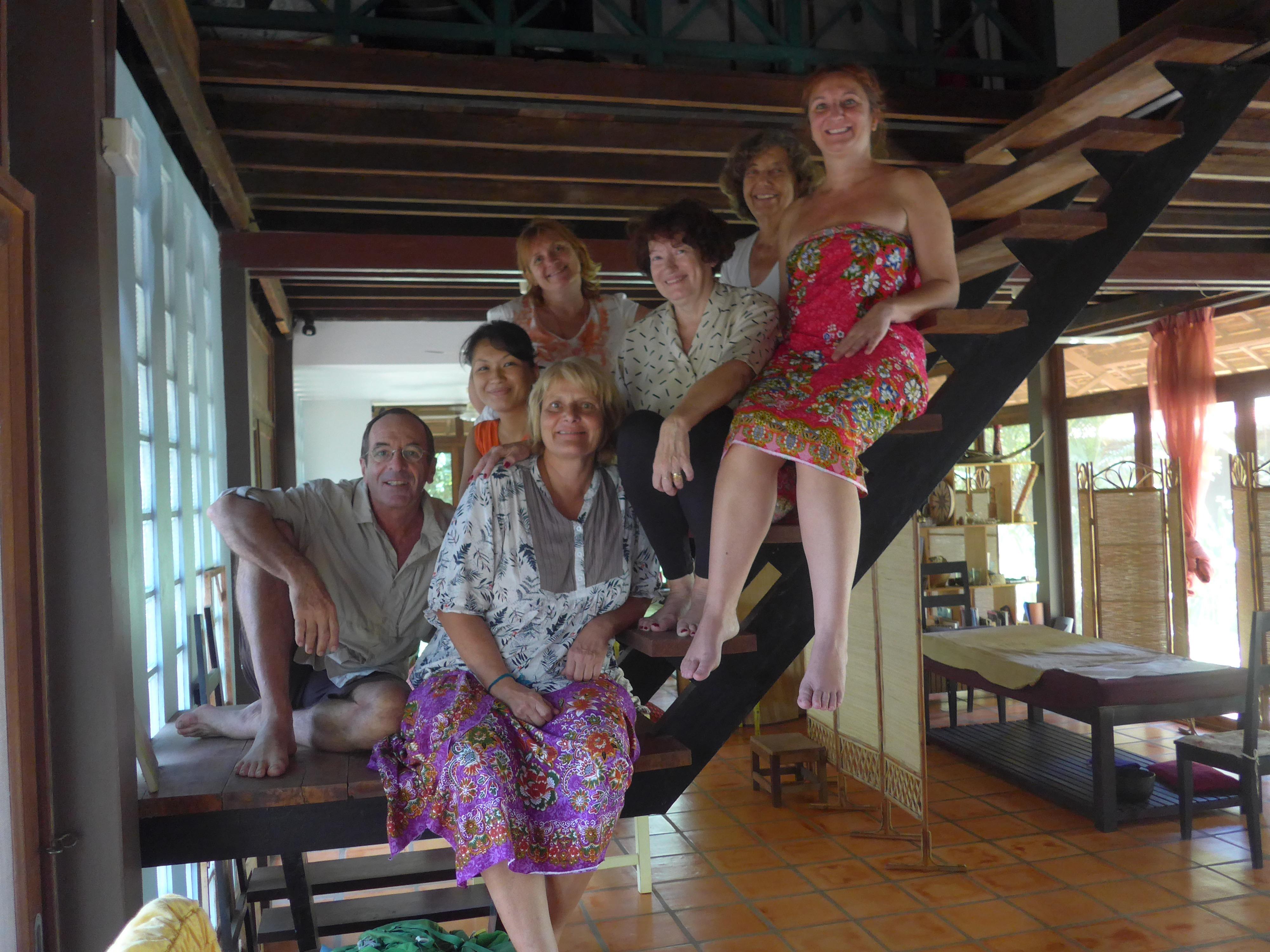 Formation de nouveaux guérisseurs à Siem Reap. mai 2018
